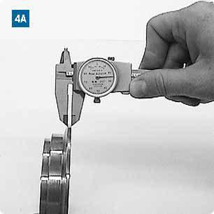 Measuring the flange apex