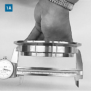 Measuring Nominal Size for Hose Clamp Application using Calipers