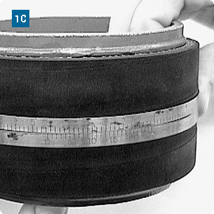 Measuring Nominal Size for Hose Clamp Application using a 'Pi' Tape Rule