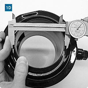 Measuring the O.D. with Calipers